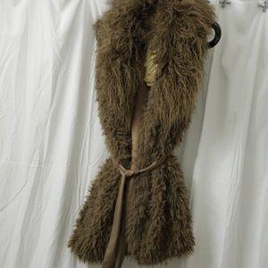 Faux fur vest S/M